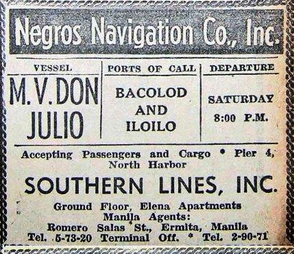 1960 Jul 2 schedules