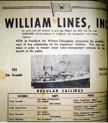 1950 William Lines