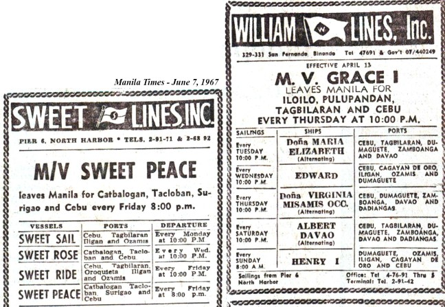 1967-6-7 Sweet+William +Escano+Rodrigueza